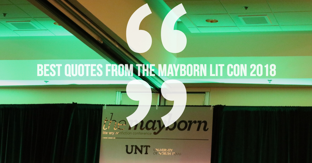 Best quotes from 2018 LitCon